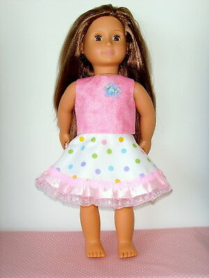 """Party Swing Skirt & Top ~ for 18"""" Our Generation type Dolls Clothes"""