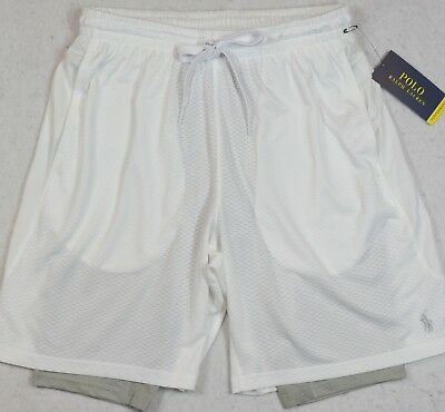 Polo Ralph Lauren Shorts Performance Athletic Compression Lining XXL NWT