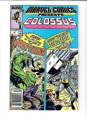 Marvel Comics Presents Colossus #12 1989 Comic.#56909*D