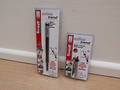 Trend 66Mm & 150Mm Magnetic One Touch Bit Holders Snap/bh/ot & Bh/ot/a