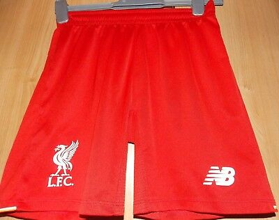 New Balance Liverpool Home Shorts 2015-16 size on tag Uk M boys approx 26 waist