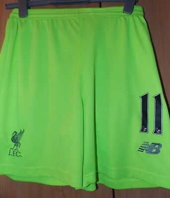 New Balance Liverpool 3rd Shorts 11 2016-17 size on tag Uk Small approx 26 in