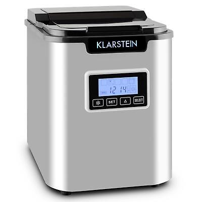 [Reconditionné] Machine A Glacons 150W Klarstein Cube 3 Tailles Production Rapid