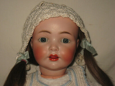 "Antique Kammer & Reinhardt K*R / Simon & Halbig 19"" Bisque Head Doll #22  MA9"