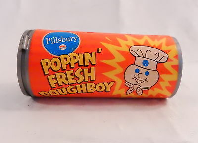 70's Vintage Pillsbury Poppin Fresh Doughboy FIGURE in CAN advertising premium