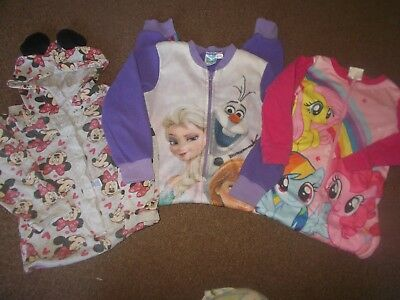 Girls  3 all in ones age 5-6 years   good condition