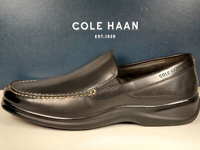 41213d63d50 Cole Haan C25938 Santa Barbara Twin Gore Ii Men s Loafer Black New With Box