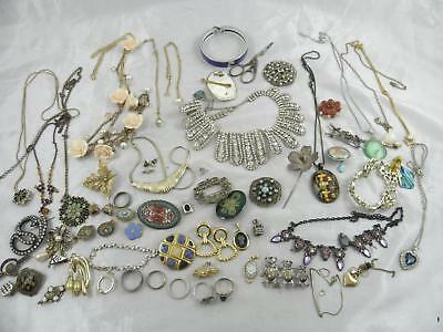 Job Lot of Vintage / Vintage Style Costume Jewellery - 700g approx