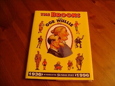 Hardback Copy Of The Broons And Oor Wullie 1936-1996