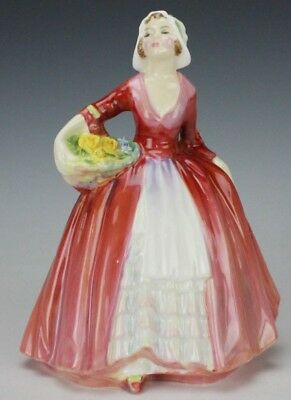 Retired Royal Doulton Janet HN 1537 Signed English Porcelain Lady Figurine ROC