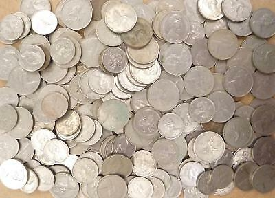Job Lot of Old British 5p & 10p Coins (260)