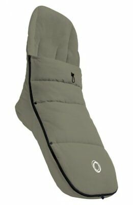 NEW Bugaboo Universal Footmuff Breathable Lining Pushchair Accessory Dark Khaki