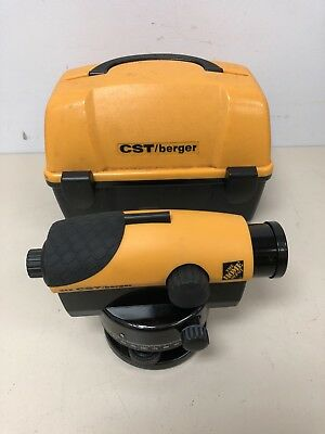 CTS Berger 24X Automatic Level w/ case (USED) Free Shipping