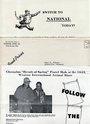 National Mink Food, Fur News, Great Lakes Mink, George I. Fox Corp Fur, Bulletin