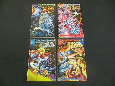 Cosmic Powers Unlimited Feat. Silver Surfer 1 2 3 4 Thanos Movie Marvel Comics