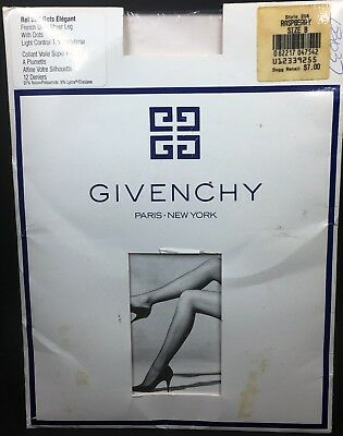 98ab4166c19bd New Givenchy Pantyhose French Dots Raspberry Pink Ultra Sheer Size B #208