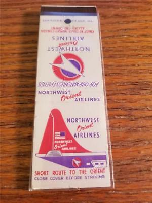 Northwest Airlines Vintage Matchbook Cover