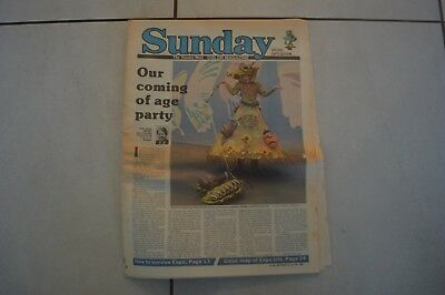 Brisbane Sunday Mail Rare Newspaper April 1988! Expo 88