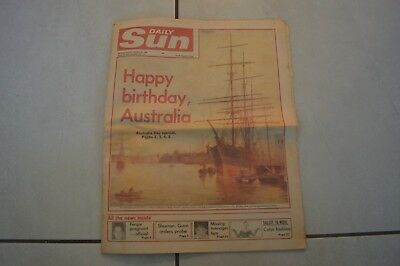 Brisbane Daily Sun Rare Newspaper June 1988!