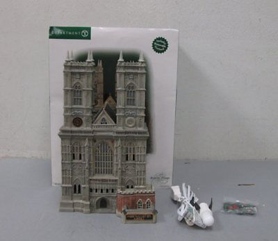 Dept 56 58517 Dickens Village Westminster Abbey - RARE LN/Box