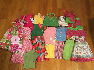 a4f0116bdfde ALL NWTS GIRLS lot of 16 Spring/Summer Clothes Size 4-5 Gymboree ...