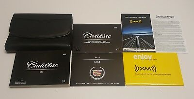 2012 Cadillac Srx Owners Manual 3.6L Premium Performance Luxury Collection Set S