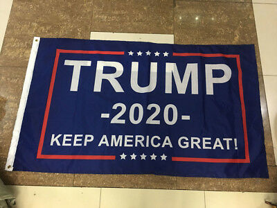 2020 Donald-Trump Flag Double Sided Printed Donald Trump Flag Keep America Great