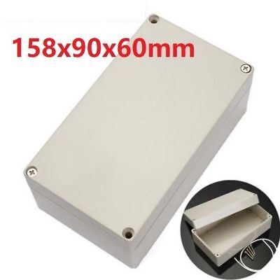 ABS PLASTIC ELECTRONICS PROJECT BOX ENCLOSURE HOBBY CASE SCREW 6.2''x3.5''x2.3''