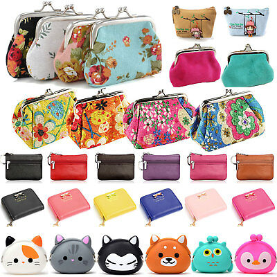 Women Girl Change Coin Purse Small Wallet Clutch Card Holder Mini Pouch Hand Bag