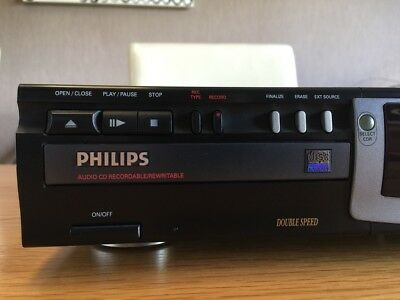 Philips CDR 775 Audio CD Recorder **Boxed**