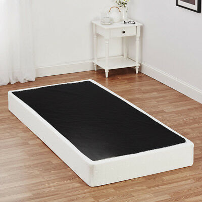 New Box Spring Bed Frame 8 Inch Mattress Foundation Strong Steel