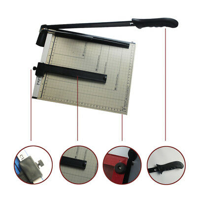 Heavy Duty A4 Photo Paper Cutter Home Office Guillotine Trimmer Mashine Ruler EL