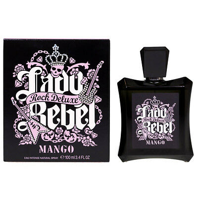 NEW Mango Lady Rebel Rock Deluxe 100ml Eau De Toilette EDT