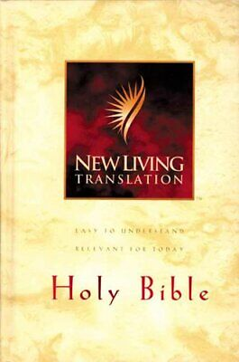 Holy Bible: New Living Translation Hardback Book The Cheap Fast Free Post