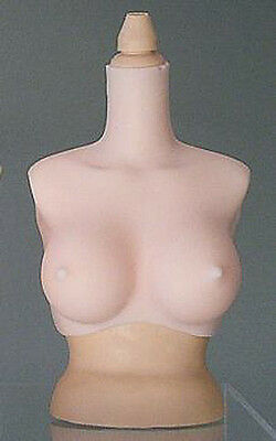 Soft Cyclone Bust Parts 1/3 D Cup fits Obitsu Body Yamato Doll Azone Doll