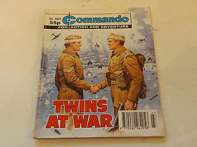 Commando War Comic Number 3037,1997 Issue,good For Age,20 Years Old,very Rare.