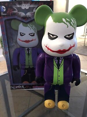 400% Be@rbrick Batman The Joker , Medicom, With Box, Bearbrick