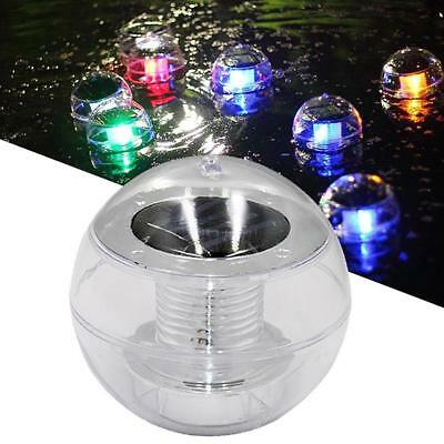Solar Power LED Color Changing Globe Colorful Ball Lights Floating Swimming Pool