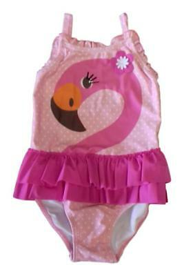 Girls Baby Kids Swimsuit Swimming Costume Bathing Suit Outfit Beach Pink