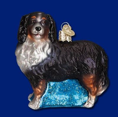 Old World Christmas Bernese Mountain Dog Ornament 12379 Decoration FREE BOX New