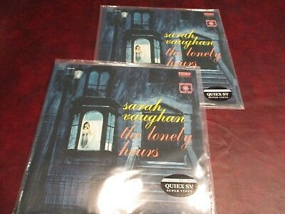Sarah Vaughan Lonely Hours Classic Records 180 Gram Audiophile  Play 1 Collect 1