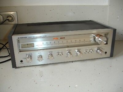 ampli tuner Hi-Fi Vintage PIONEER SX-550 FM Stereo Receiver 1976