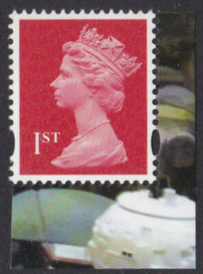 Gb 2017 1st Class Stamp Vermillion With Date Code M17l Mpil