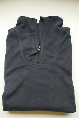 """NEW - Latest Issue NAVY BLUE PCS Fleece Thermal Shirt Size 170/90 (39"""" Chest)"""