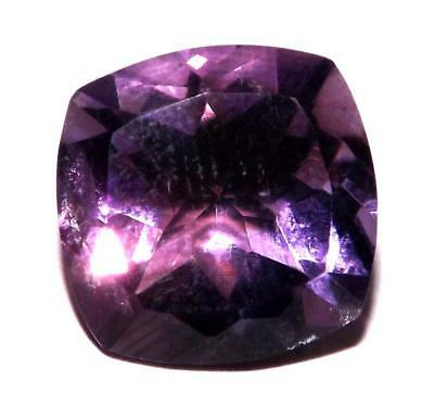 6.10 cts Natural Earth Mined Amethyst 12 x 12 mm Gemstone #eam1791