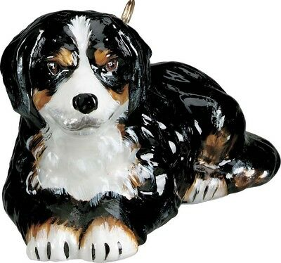 Bernese Mountain Dog Polish Glass Christmas Tree Ornament Pet Decoration New