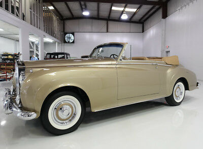 1959 Rolls-Royce Silver Cloud I Drophead Coupe by H.J. Mulliner 1959 Rolls-Royce Silver Cloud I DHC by  H.J. Mulliner | 1 of 10 built