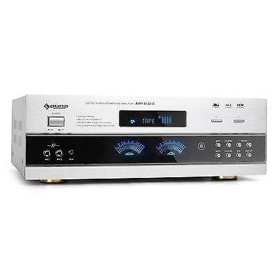 Ampli Hifi Home Cinema Karaoke Pa Surround 5.1 Recepteur Radio 1200W 2X Micro In