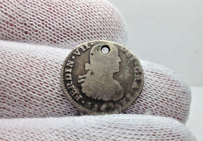 1809 1 Reale Shield Type Mexico City ***NO RESERVE***