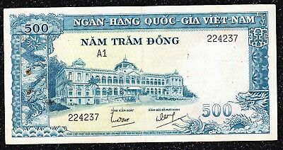 South Vietnam 1962-P6 - 500 Dong